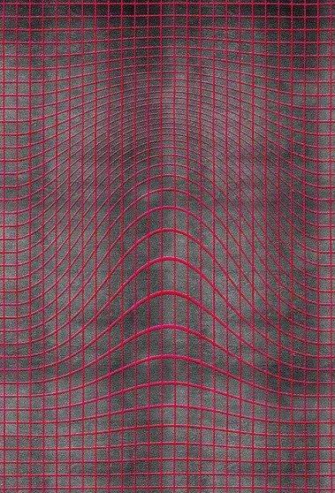 Artep tappeto design optic hole 1