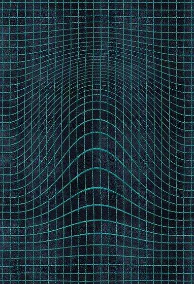Artep tappeto design optic hole 3