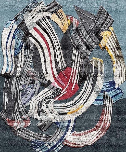 Artep morphologies nino mustica design rug