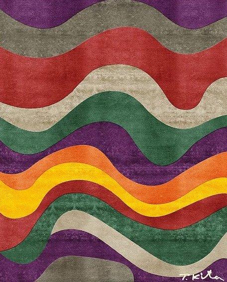 Tsu 1 Artep shizen design rug