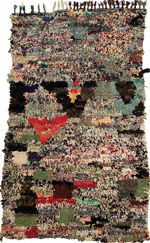 Maroccan rug H22