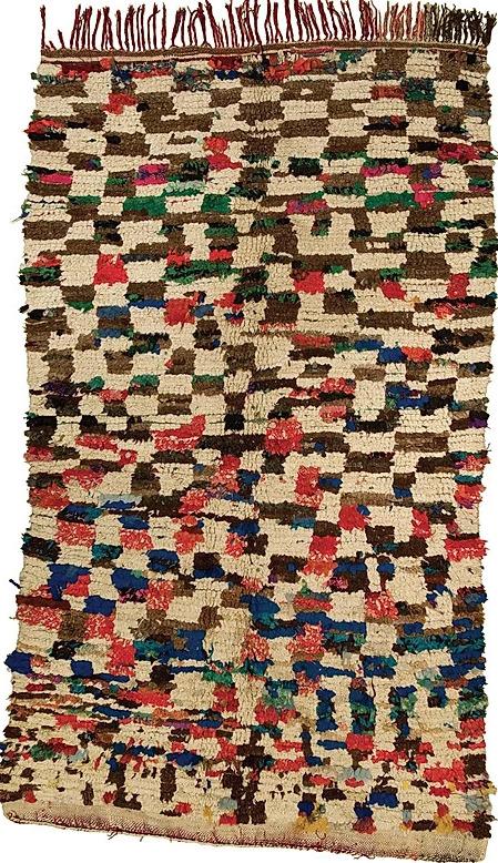 Maroccan rug H29