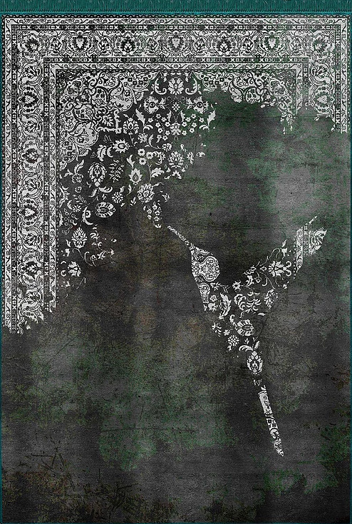 Artep neodecorative rug Colibrì