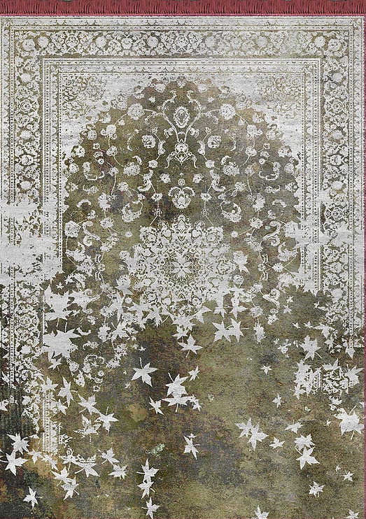 Artep neodecorative rug leafinthewind